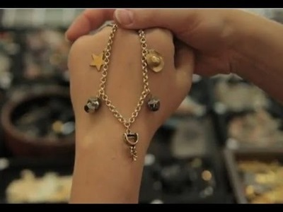 Jewelry Making: How to Make Personal Charm Bracelet