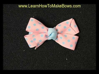 Learn How to Make Bows without a Bow Maker for Spring