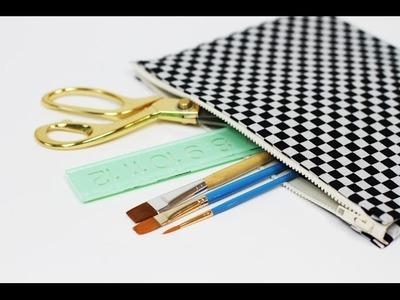 Lilyshop How To Make a No-Sew Makeup Bag