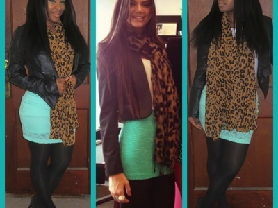 LOOK FOR LESS | Kendall Jenner Inspired Mint Green OOTD