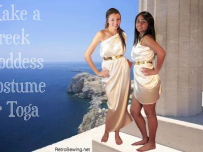Make Greek Goddess Costume or Toga