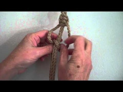 Making a Half Knot Sinnet for your Macrame Project from MacrameForFun.com