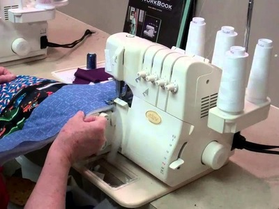 Making a Serger Quilt for Charity Part 2