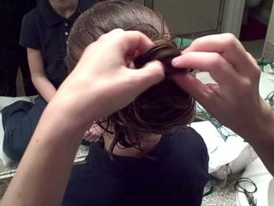 Messy Bun #1   Cute Girls Hairstyles