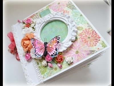 Mini Albums and Tutorial (Etsy)