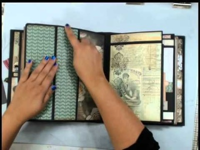 My Design Mini Album Part 2 of 2 How to decorate you pages