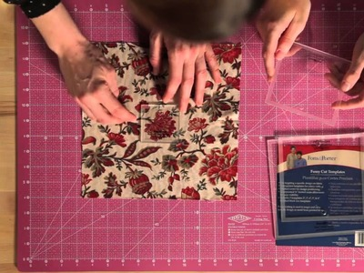 Quilty: Tip Top Technique -- How to Fussy Cut