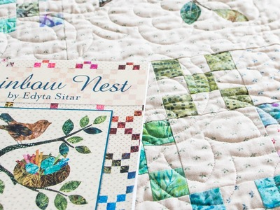 Rainbow Nest Children's Book with Quilt Pattern by Edyta Sitar - Fat Quarter Shop