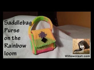 Saddlebag Purse on the Rainbow Loom