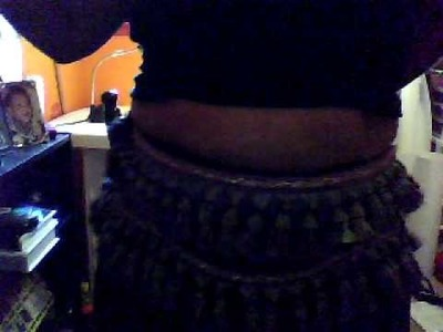 Sewing project:  Very first belly dance belt