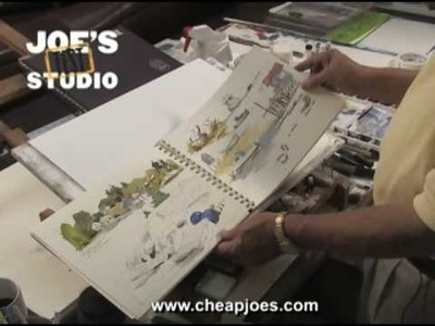 Sketchbook Journal : Cheap Joe's Product Demonstration