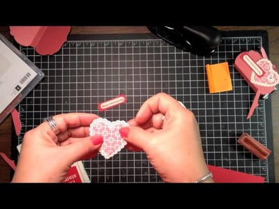 Stampin' Up! Video Tutorial Valentine Treat with Framelits