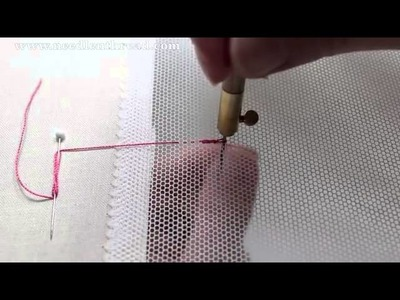 Tambour Embroidery   Basic Stitch