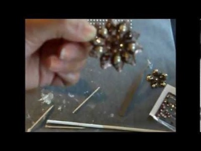 Tutorial How to Create a Vintage like Brooch