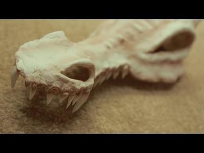 Tutorial Props: Dragon Skull
