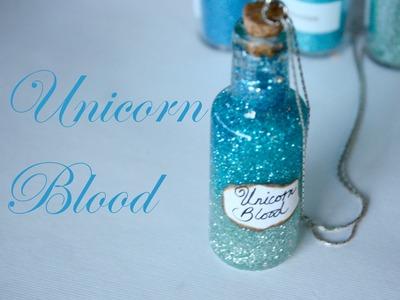 Unicorn Blood: Harry Potter Potion Ep. # 8 - Bottle Jar Tutorial