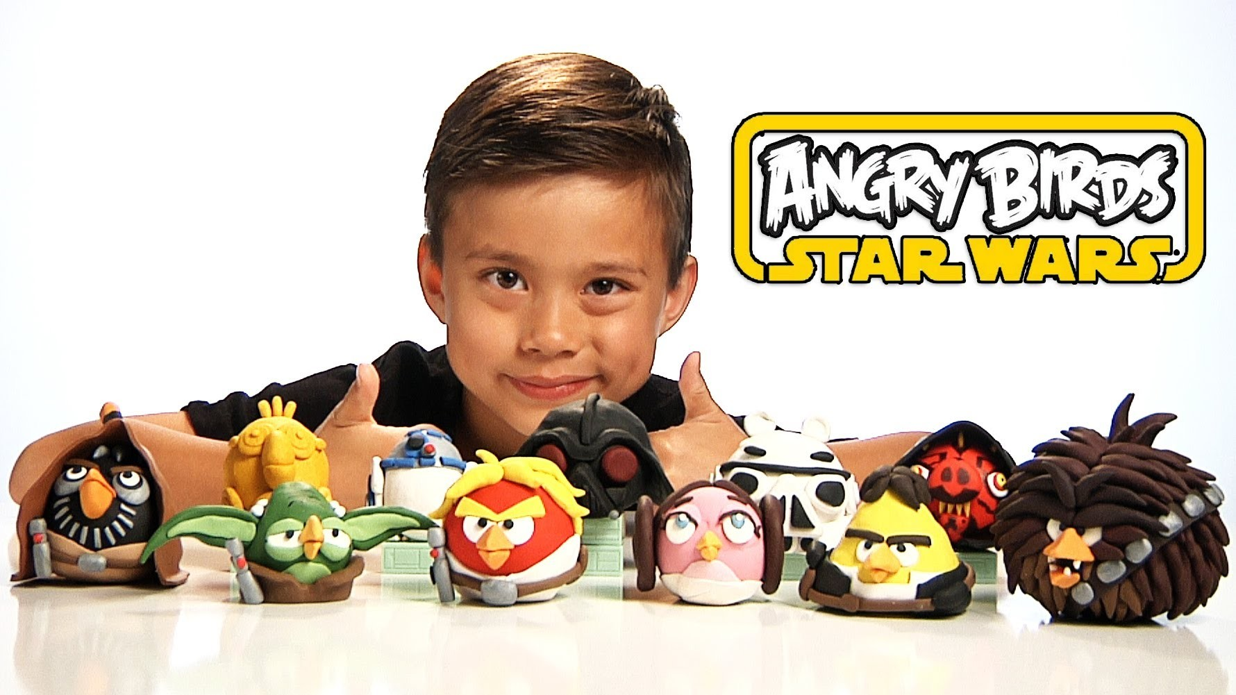 Angry Birds STAR WARS CLAY MODELS - All NEW EPIC Figures! Sculpey