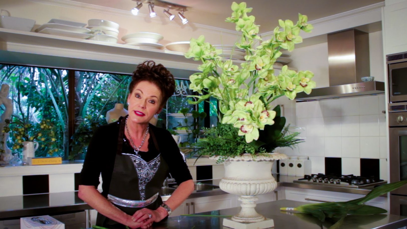 Arranging with Orchids Floristry Tutorial