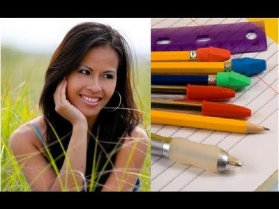 BACK TO SCHOOL: School Supplies Toolbox & Stationary Pencil Box Organization + Giveaway!!!