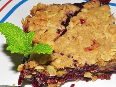 Blackberry Crumb Recipe - Made with Cinnamon and Oats
