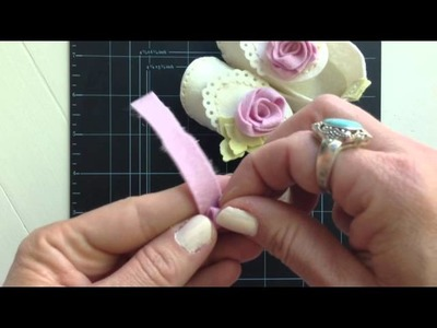 Create Your Own Felt Roses