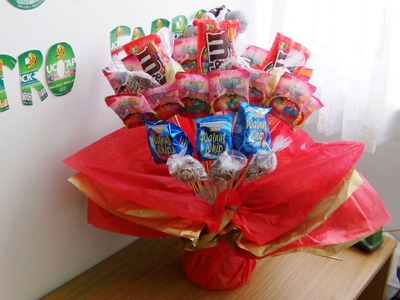 D.I.Y: Candy Bouquet