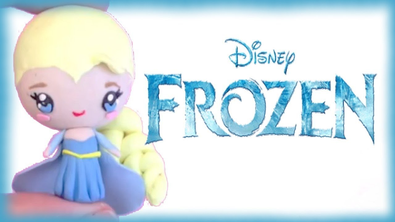 Disney's Frozen Elsa Chibi Polymer Clay Tutorial