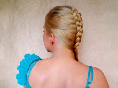 Dutch braid tutorial: inside out french plait elegant hairstyles for long hair braided mohawk