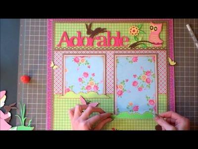 Faith Abigail Designs - Adorable Bunny Layout Tutorial