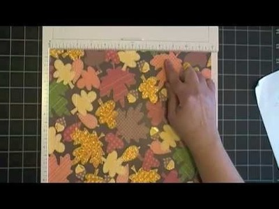 Fall Milk Carton Gift Box Tutorial Martha Stewart Score Board -Part 1.m4v