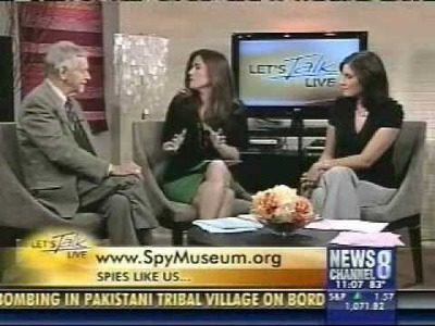 Former CIA Agent Peter Earnest discusses Russian spies on Let's Talk Live.