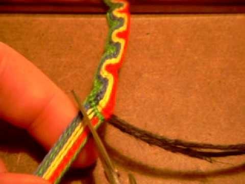 Friendship Bracelets: Wave Peruvian Bracelet Part 2