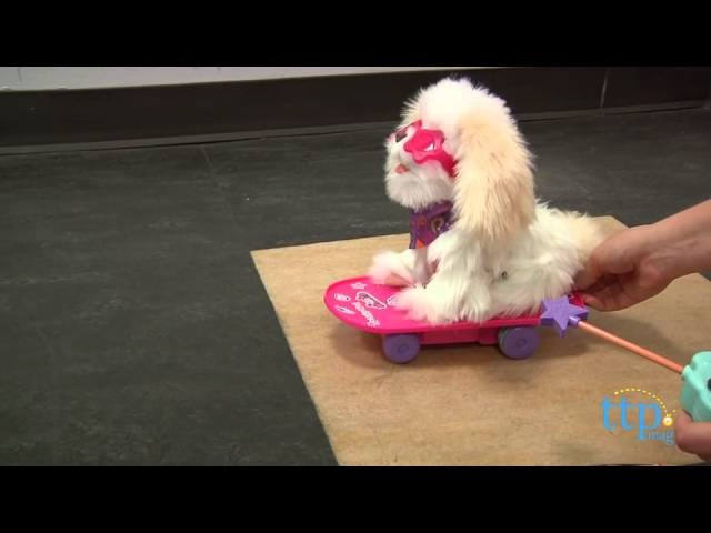 FurReal Friends Trixie the Skateboarding Pup from Hasbro