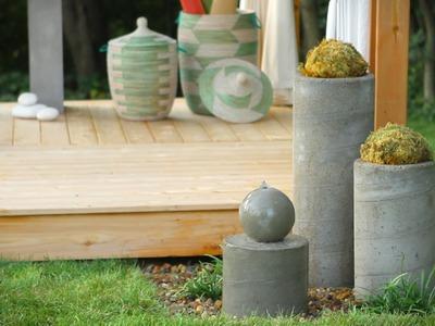 How to Build an Outdoor Zen Garden Water Fountain