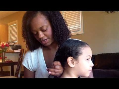 How to Comb Mixed Kids Hair