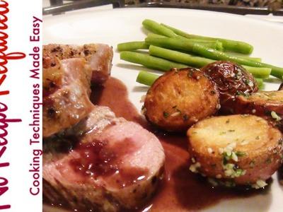 How to Cook a Pork Tenderloin - NoRecipeRequired.com
