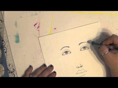 How to Draw a Girl - Sketch a Face - How to Draw a Face