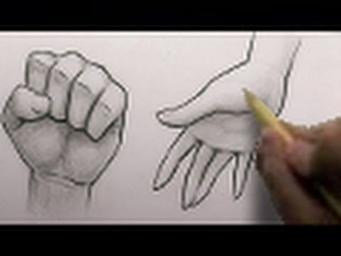 How to Draw Hands, 2 Different Ways [HTD Video #3]