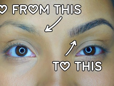 How to Get Perfect, Natural-looking Eyebrows with Makeup