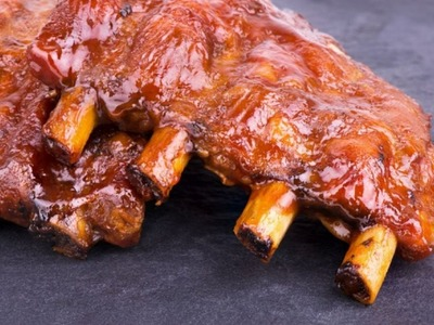 How to Grill Pork Spare Ribs - The Frugal Chef