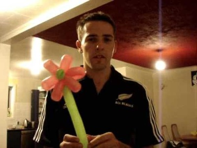How To make a 6 Petal Balloon Flower