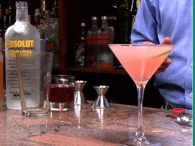 How to make a cosmopolitan - Cosmopolitan drink recipe
