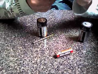 How to make a homemade electro-magnet