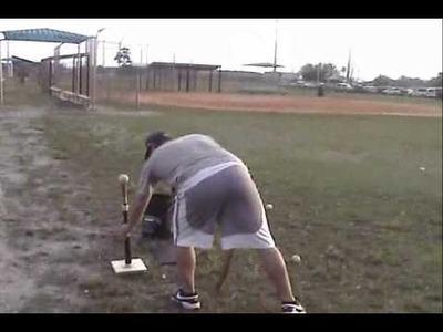 How to make a homemade Hitting.Batting Tee for Baseball