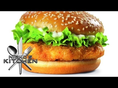 HOW TO MAKE A McCHICKEN - VIDEO RECIPE
