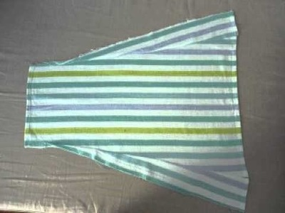 How to make a more complicated skirt from teatowels