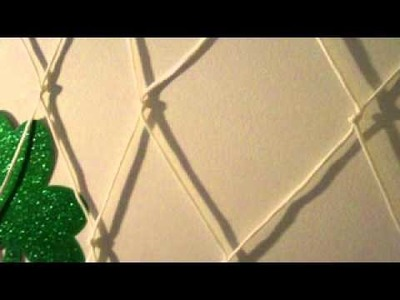How to make a net using paracord or any cordage