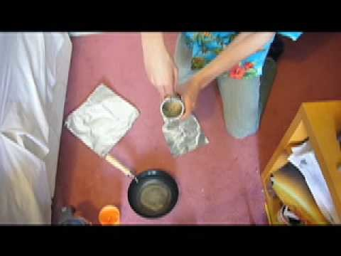 How to make a smoke bomb without using potassium nitrate or ping pong balls