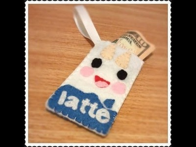 How To Make A Tokidoki Latte Coin Pouch From Felt Tutorial
