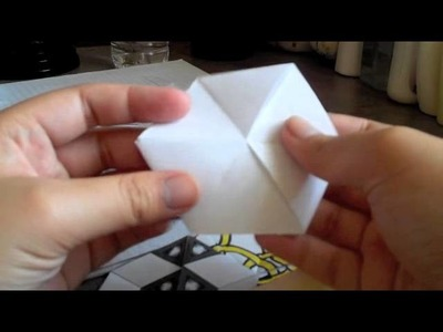 How to Make a Tri-Hexaflexagon